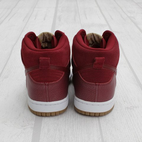 Nike SB Dunk High 'Team Red/Filbert' at Concepts