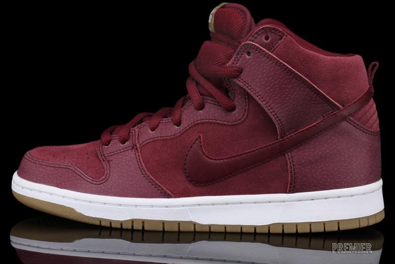 Nike SB Dunk High 'Team Red/Filbert' at Premier