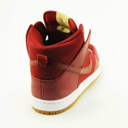 Nike SB Dunk High 'Team Red/Filbert' at SPoT