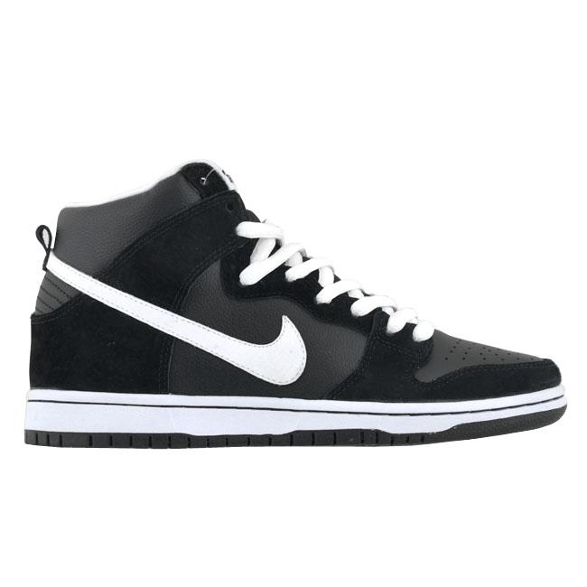 Nike SB Dunk High 'Black/White'