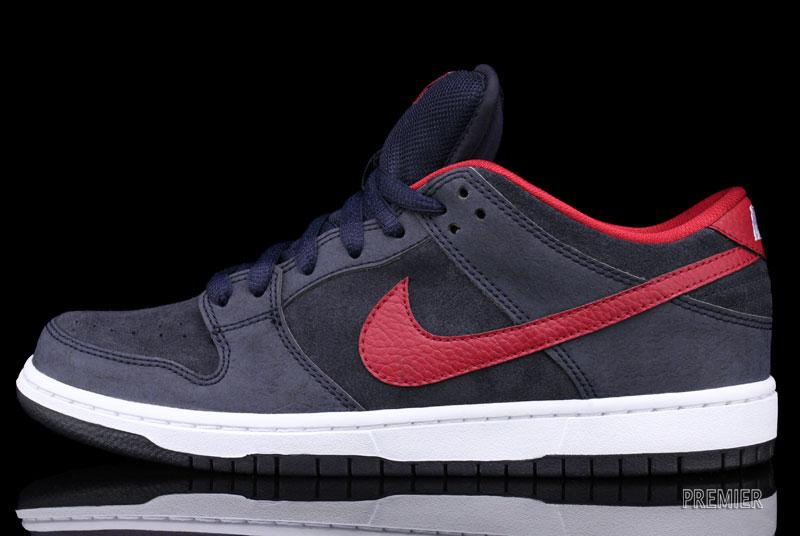 finest selection 6e27b 914cc ... czech nike sb dunk low dark obsidian gym red white at premier 0c9fb  2a20f ...
