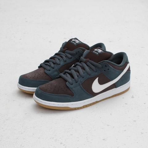 Nike SB Dunk Low 'Slate Blue/White-Tar'