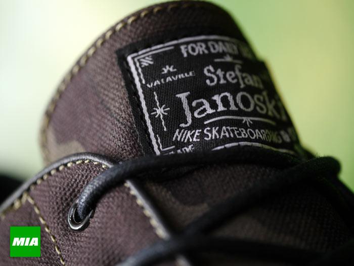 Nike SB Stefan Janoski 'Camo' at MIA