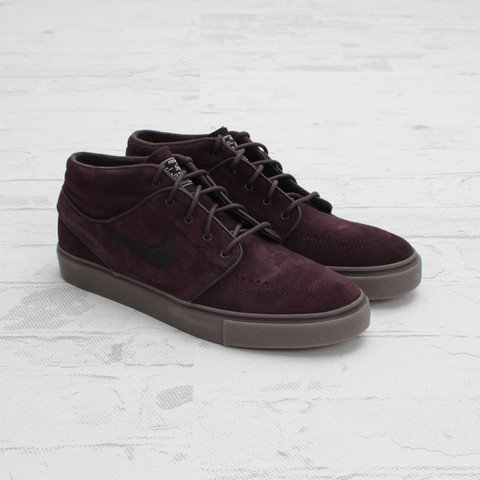 Nike SB Stefan Janoski Mid 'Port Wine' at Concepts