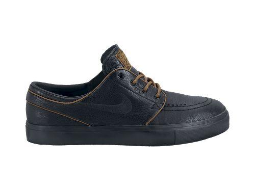 Nike SB Stefan Janoski Premium 'Black/Black-Pecan'