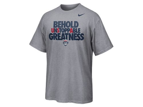 Nike Team USA 'Behold Unstoppable Greatness' T-Shirt