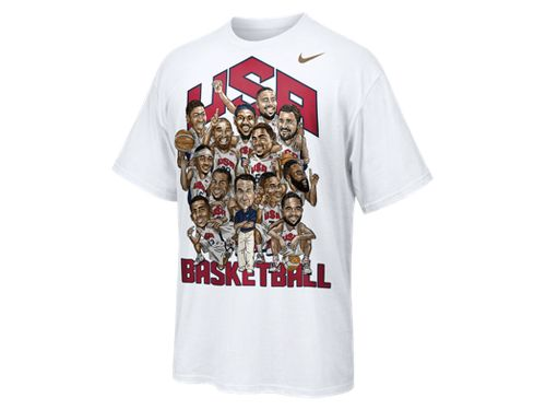 Nike Team USA Roster T-Shirt