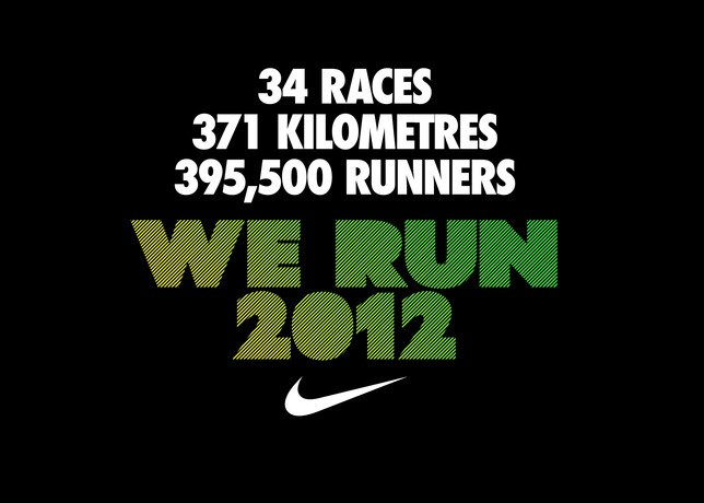 Nike We Run 2012 Race Calendar
