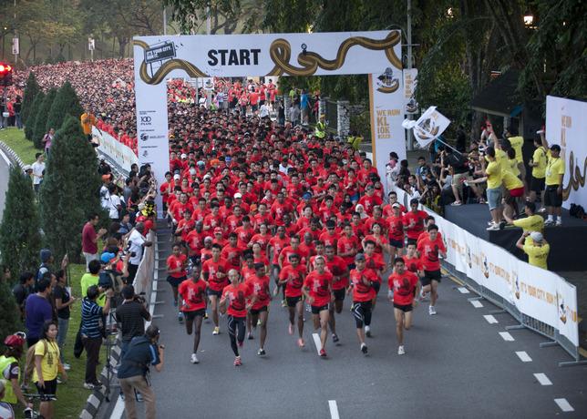 Nike We Run Photo Gallery
