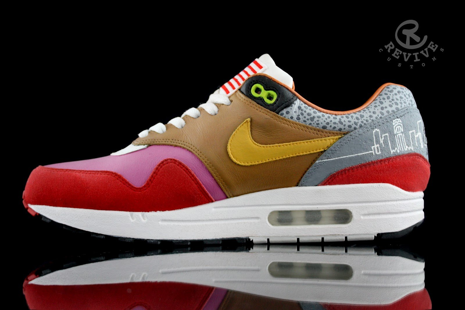 Nike What The Air Max 1 by Revive Customs