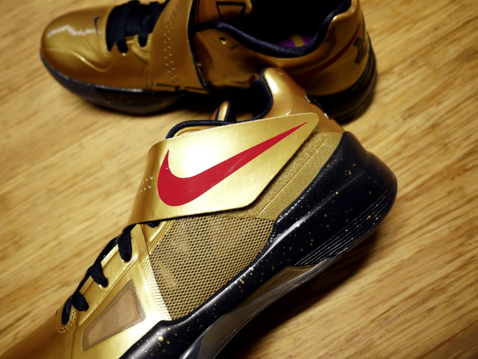 best authentic 0dfaf ead0f Nike Zoom KD IV  Gold Medal  -  United We Rise  Packaging +