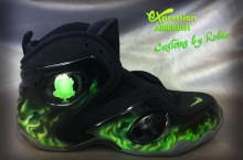 Nike Zoom Rookie LWP 'ParaNorman' by Expression Airbrush