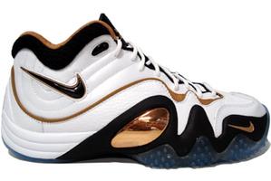 Nike Zoom Uptempo V 'White/Black-Gold'
