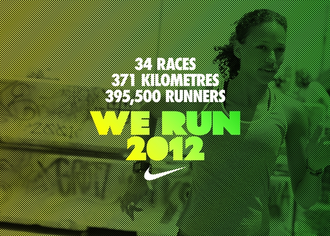 Nike's We Run Race Series Connects Runners Around The World Through Nike+