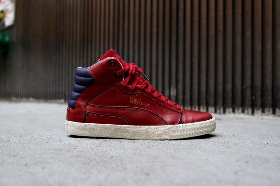PUMA by Alexander McQueen Street Climb Mid 'Red' | SneakerFiles