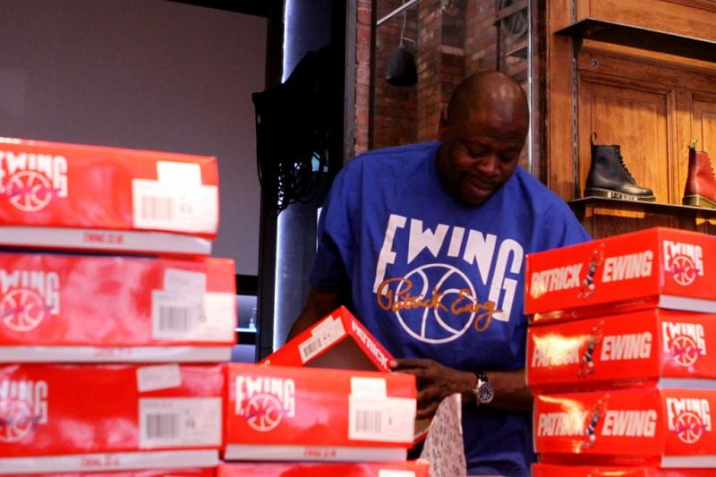 Patrick Ewing In-Store Release Recap at Kith Manhattan