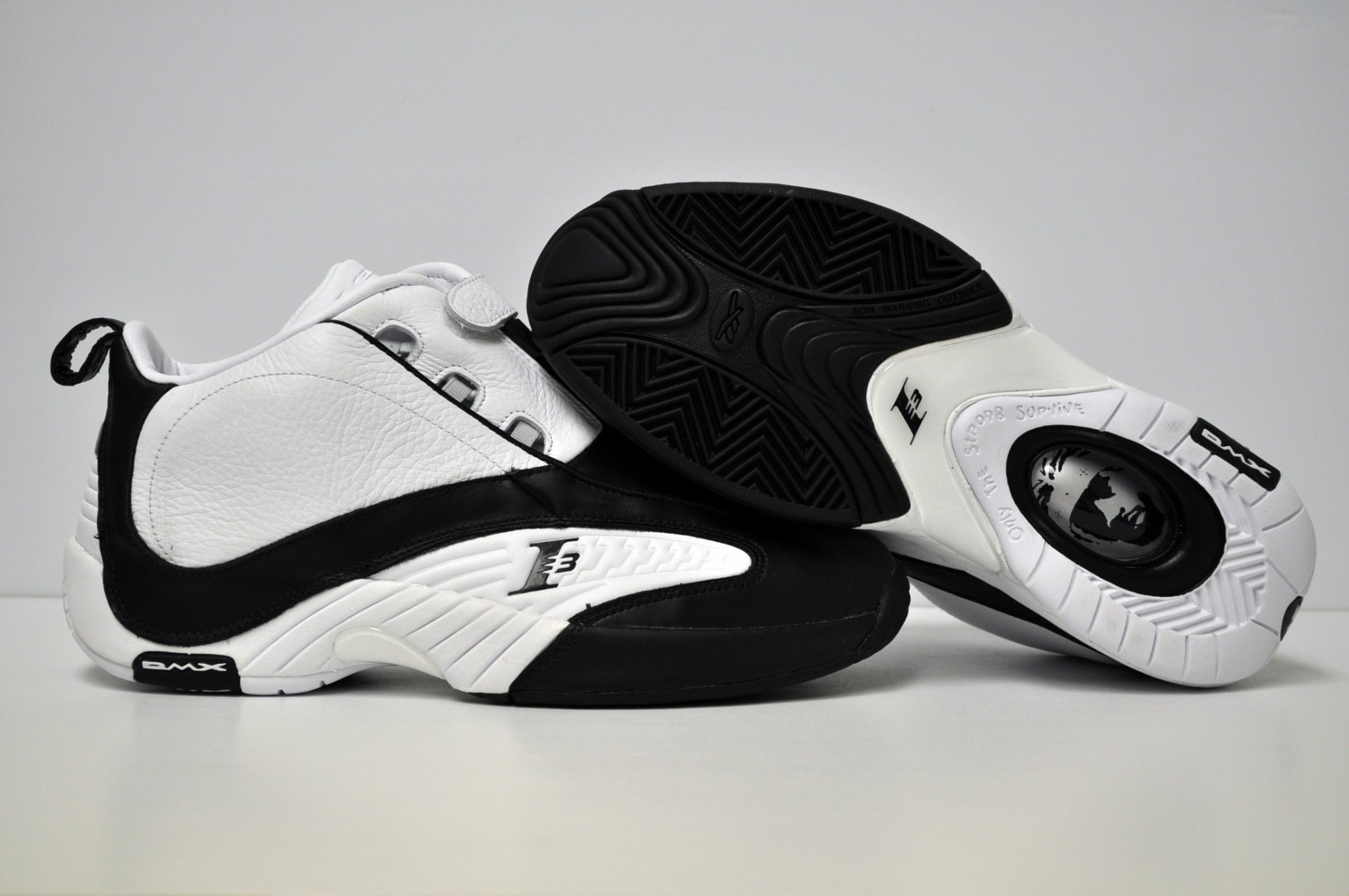 Reebok Answer IV 'White/Black' at The Vault