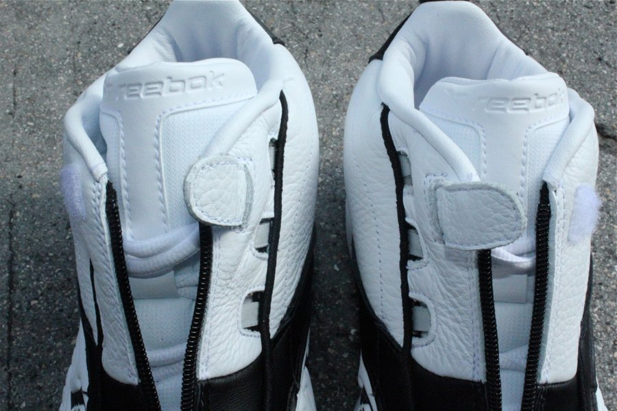 502167239416 Reebok Answer IV  White Black  - Detailed Images