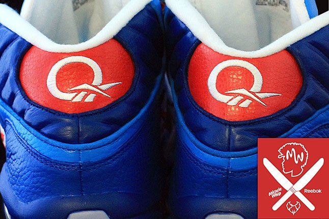 Reebok Question Mid 'Miracle Whip' for Questlove by PMK