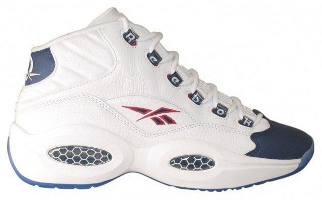 Reebok Question Mid 'White/Navy' - October 2012