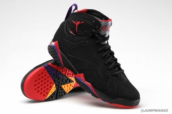 huge selection of 42f36 88cc3 Release Reminder  Air Jordan 7  Raptors