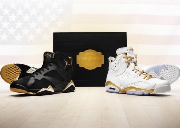 finest selection 170c0 5acc0 Release Reminder  Air Jordan Golden Moments Pack