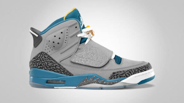 Release Reminder: Jordan Son of Mars 'Stealth/White-Shaded Blue-University Gold'