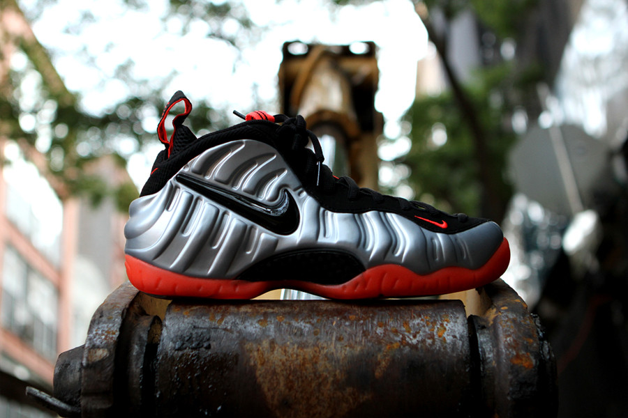 Release Reminder: Nike Air Foamposite Pro 'Bright Crimson' at Kith NYC