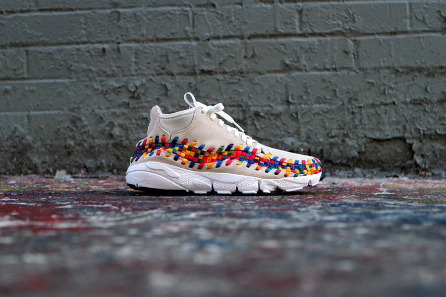 detailed pictures 0b7c7 bea70 ... Release Reminder Nike Air Footscape Woven Chukka Premium QS Rainbow  SailSail- ...