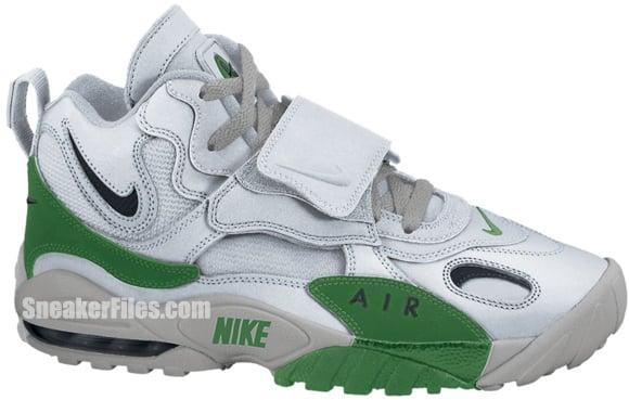 Release Reminder: Nike Air Max Speed Turf 'Metallic Silver/Black-Pine Green-Metallic Silver'