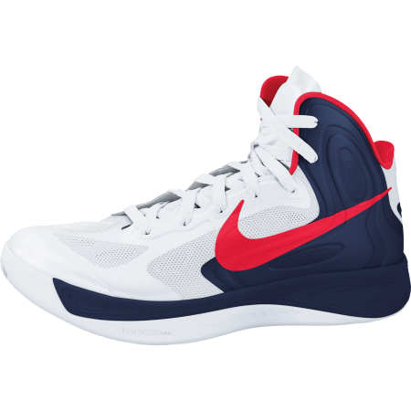 Release Reminder: Nike Hyperfuse 'White/University Red-Obsidian'
