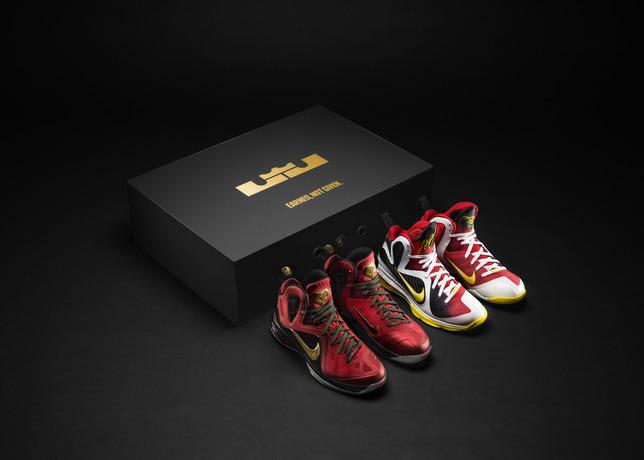 Release Reminder: Nike LeBron 9 Championship Pack