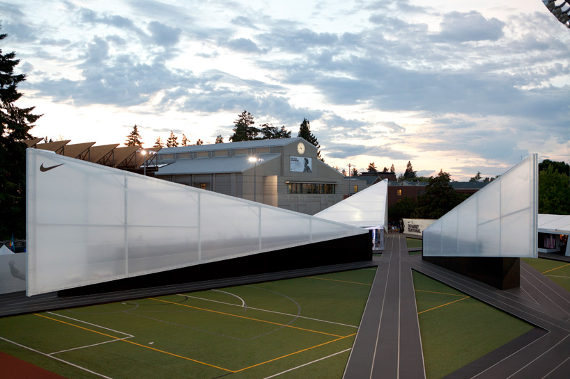 Skylab Architecture 'Camp Victory' for Nike's Olympic Trials Pavilion