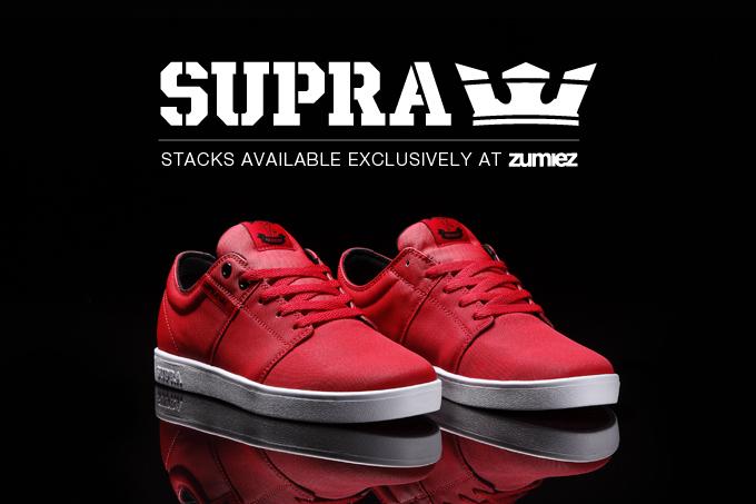 Supra Stacks 'Red Express TUF' Zumiez Exclusive