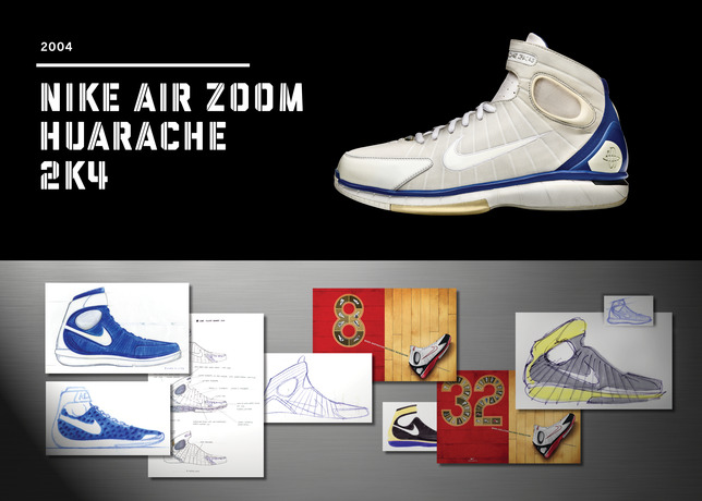 Twenty Designs That Changed The Game - Nike Air Zoom Huarache 2K4