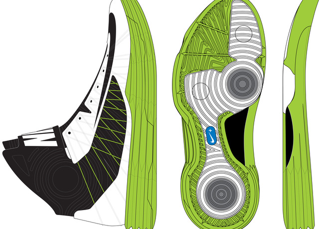 Twenty Designs That Changed The Game - Nike Hyperdunk+ 2012