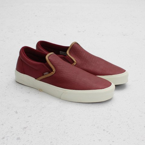 Vans California Classic Slip-On Braided 'Tawny Port'