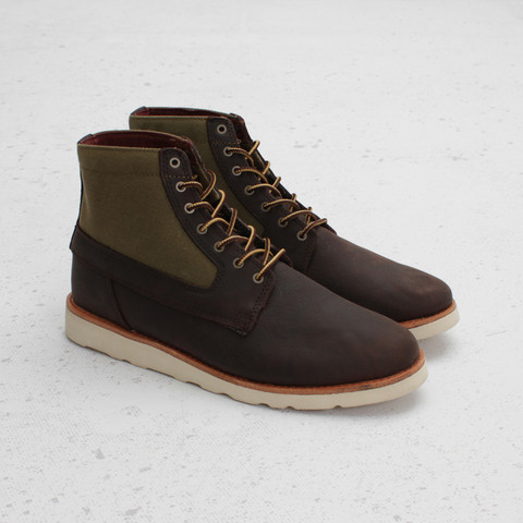 Vans OTW Breton Boot Waxed Canvas 'Brown'