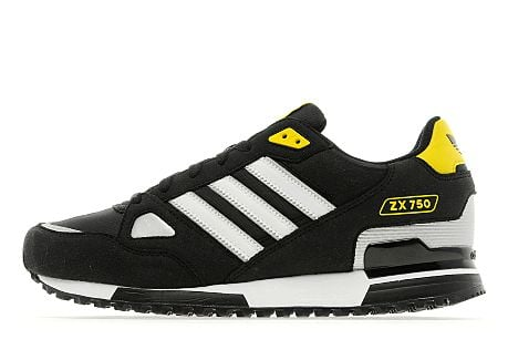adidas Originals ZX 750 'White/Black/Metallic Silver'