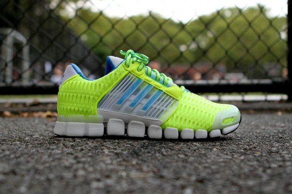 adidas Originals by David Beckham adiMEGA Torsion Flex CC 'Luminous Yellow' at Kith NYC