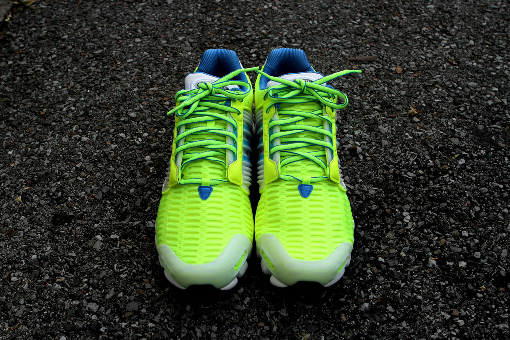 adidas Originals by David Beckham adiMEGA Torsion Flex CC 'Luminous Yellow' at Kith NYC