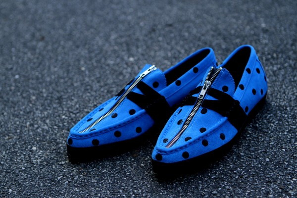 adidas Originals by Jeremy Scott JS Slim 'Blue' at Kith NYC