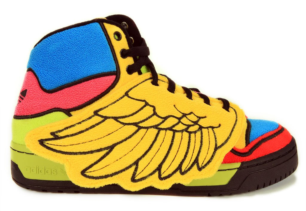 adidas Originals by Jeremy Scott JS Wings 'Multicolor' - Now Available at Bodega