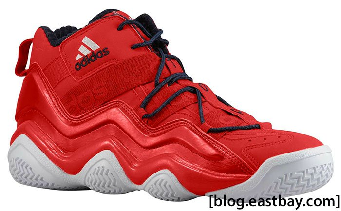 adidas Top Ten 2000 'Light Scarlet/White/New Navy'