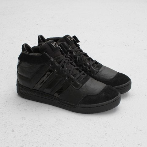 adidas Y-3 Courtside  Black Black   9a40d6bdd