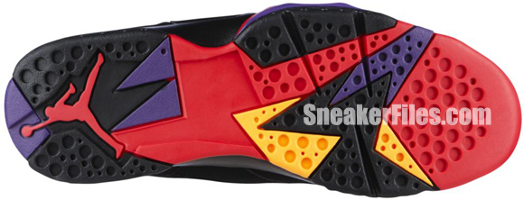 Air Jordan VII (7) Retro Charcoal / Raptor 2012 Official Images