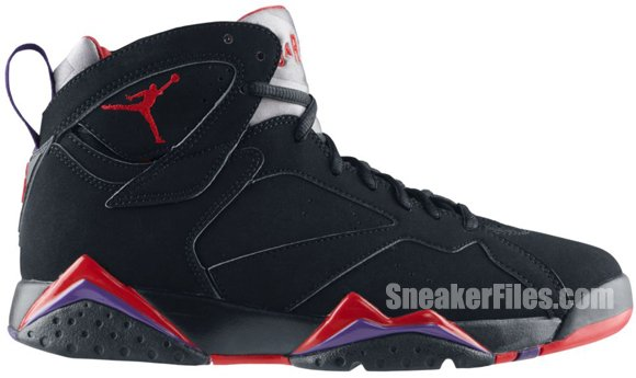Air Jordan VII (7) Retro Charcoal / Raptor 2012 Official Images