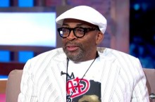 Celebrity Sneaker Watch: Spike Lee On Good Morning America in Olympic Air Max's