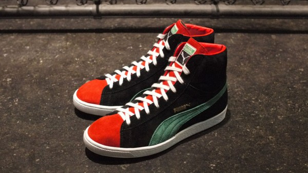 magforlia x PUMA Suede Mid 'Made In Japan' at mita