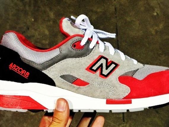 New Balance 1600 'Grey/Red-Black' | SneakerFiles